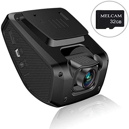 Car Dash Cam, Dashboard Camera Recorder with 32GB SD Card, MELCAM FHD 1080P, 3 LCD Screen, Driving Recorder with Sony Video Sensor, Parking Mode, 150 Angle, Loop Recording, Night Vision, WDR