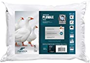 Travesseiro Toque de Pluma - Plumax Percal - Integralmente lavável em máquina - P/ fronhas 50x70 cm - Fibrasca