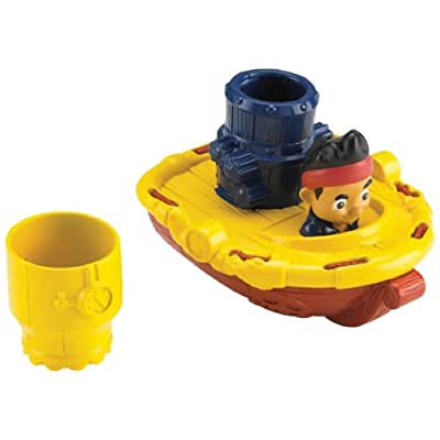 Fisher-Price Disney Jake & the Never Land Pirates, Jake's Pirate Cruiser: Toys & Games