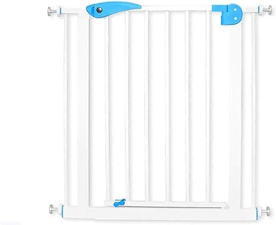 Ancho de la puerta de seguridad para niños 75-82 cm Escalera Puerta de la cerca de seguridad sin perforar Función de cierre automático (Tamaño : Wall mounting method): Amazon.es: Hogar
