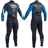 Traje de neopreno completo para hombre de Gul para buceo, natación, surf, vela (5mm)