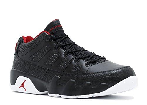 Jordan Air 9 Retro Low Men's Shoes Black/Gym Red/White 832822-001 (11.5 D(M) US)