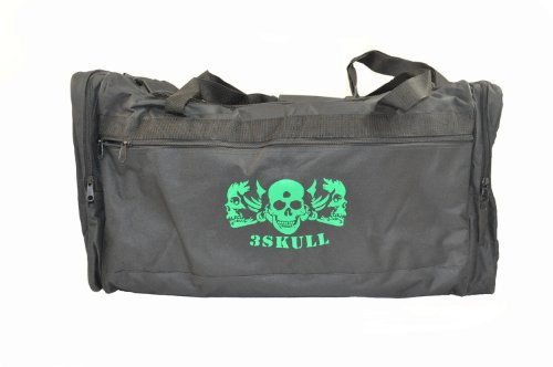 3Skull Paintball Compartment Gear Bag - Black (Ultimate Bag Gear)