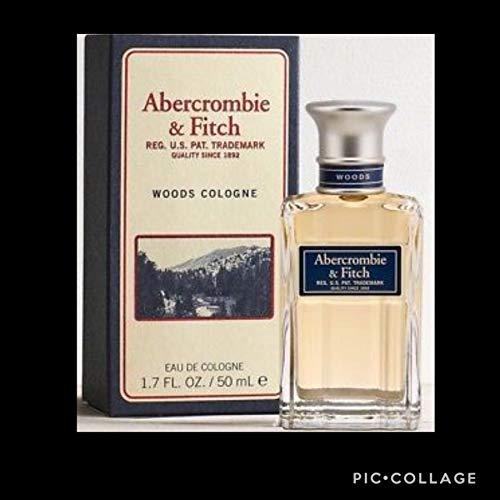 Abercrombie & Fitch Mens WOODS Cologne 1.7 bottle. for sale  Delivered anywhere in USA