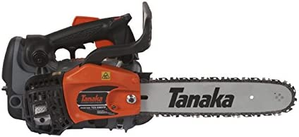Tanaka TCS33EDTP-12 32.2cc 12-Inch Top Handle Chain Saw With Pure Fire Engine