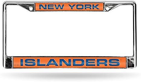 NHL Laser Chrome Plate Frame