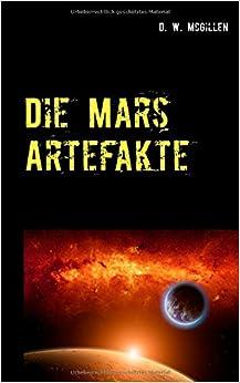 Book Die Mars Artefakte