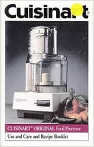 cuisinart 7 cup food processor manual