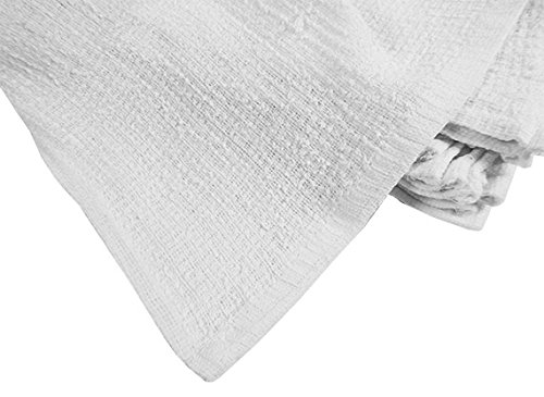 RagLady Ribbed Terry Towels - 15'' x 18'' - Case of 240 Towels - Perfect Cleaning Rag