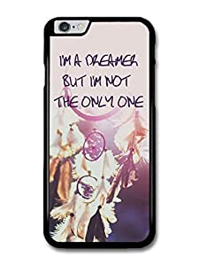 "AMAF ? Accessories Dreamcatcher I'm A Dreamer John Lennon The Beatles Life Inspirational Quote case for iPhone 6 Plus (5.5"")"