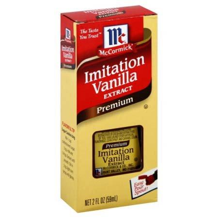 McCormick Imitation Vanilla Extract Premium
