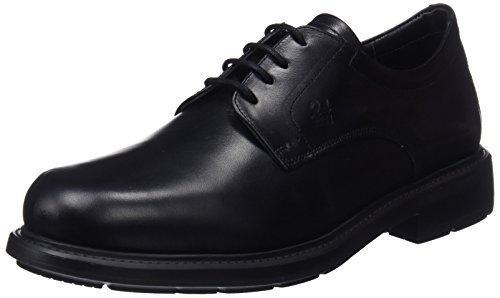 24 HORAS 10249, Richelieus Homme Noir (Black 7)