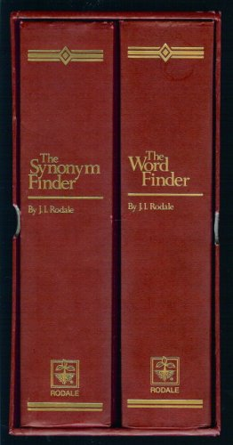 The Synonym Finder and The Word Finder, Two-Volume Set
