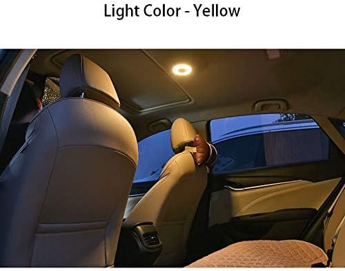 L/áMpara de Techo del Veh/íCulo de Carga USB para Cami/óN Barco Luz de Remolque Wivarra Luz de Techo Interior del Autom/óVil Luz de Techo Magn/éTica Interior Azul Amarillo