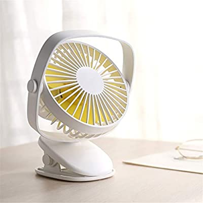 WOZOW eléctrico de enfriamiento cochecito, ventilador de mesa Mini ...