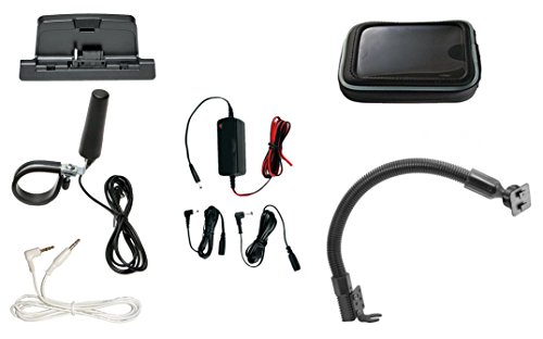 SiriusXM Satellite Radio Installation Kit for Polaris UTV Side by Side and Other Power Sports Vehicles. Works with SiriusXM portable receivers such as onyX, Xpress, Sportster, Starmate, Stratus