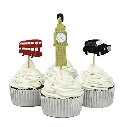BETOP HOUSE England Decorative Cupcake product image