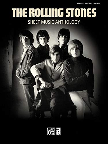 - Rolling Stones -- Sheet Music Anthology: Piano/Vocal/Chords