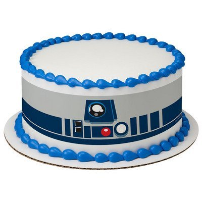 Star Wars R2-D2 Pastel Tiras oficial Comestible Decoración ...