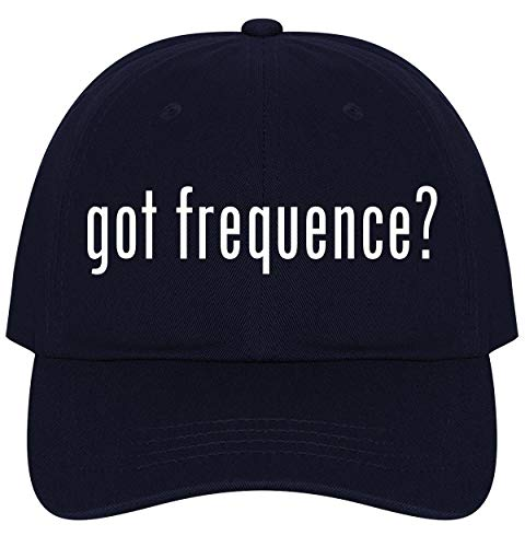 The Town Butler got Frequence? - A Nice Comfortable Adjustable Dad Hat Cap, Navy