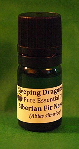 (Ship from USA) SIBERIAN FIR NEEDLES Pure Essential Oil 5mLs Glass Eurodropper aromatherapy soap *GWE849F EP-21RT14718