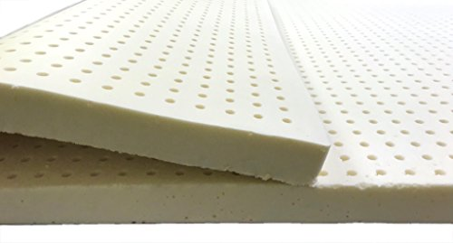 Natural Latex Mattress Topper With Premium Velvet Covering
