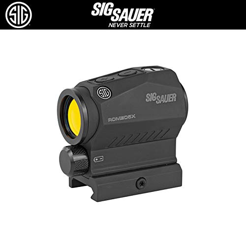 Purchase Sig Sauer SOR52101 Romeo5 2MOA Compact Red Dot Sight 1x20mm with Picatinny Mount