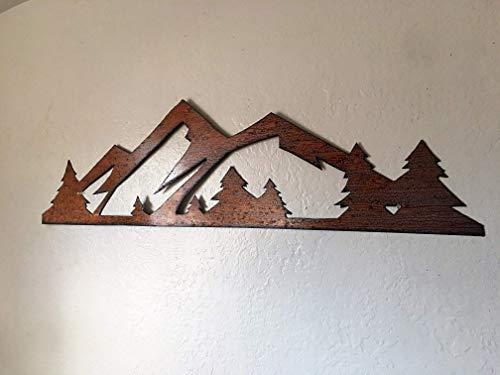 Elk Antler Rocky Mountain National Park Name Themed Steel Wall Art Sign