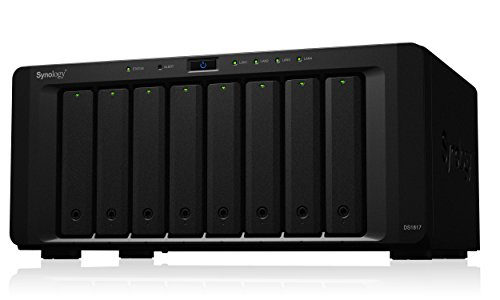 Synology 8 bay NAS DiskStation DS1817 (Diskless) by Synology