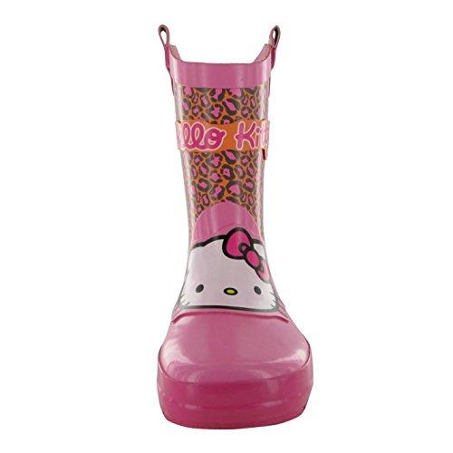 Hello Kitty Bottes Wellington Bottes en caoutchouc bottes fille rose Gum de coffre
