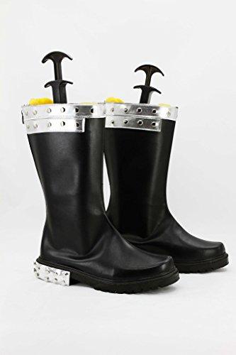 Queue De Fée Gajeel Reitfox Cosplay Chaussures Bottes Faites Sur Commande