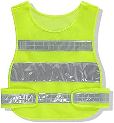 AINIYF Chaleco reflectante para correr o andar en bicicleta | Chaquetas Reflectoras Con Bolsillos | Ropa de seguridad de alta visibilidad para bicicleta, caminar, corredores (Color : Yellow): Amazon.es: Bricolaje y herramientas