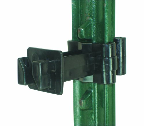 (Field Guardian T-Post Extension Polywire Insulator, 3-Inch, Black)