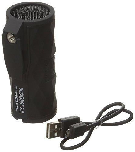 Outdoor Tech OT2301 Buckshot 2.0 Rugged Waterproof Super-Portable Wireless Speaker, Black (Renewed)