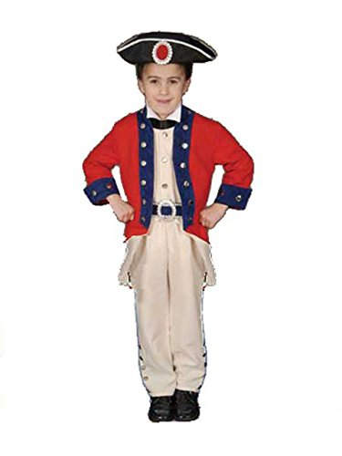 Child Colonial Soldier Costume (Deluxe Colonial Soldier Set Child Costume)