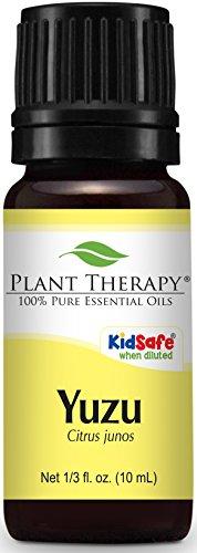 Plant Therapy Yuzu Essential Oil 10 Ml  1 3 Oz  100  Pure  Undiluted  Therapeutic Grade