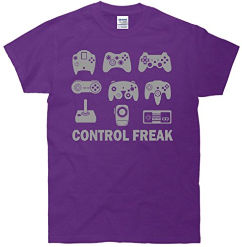 Control Freak Video Game Funny Gamer T-Shirt