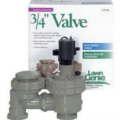 Lawn Genie Automatic Anti-Siphon Valve 3//4  Boxed Toro Irrigation