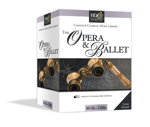 Classical Music Library: The Opera & Ballet Tchaikovsky