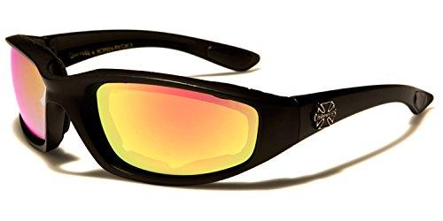 SDK Gafas purple de Mirror Orange para SUNGLASSES Black sol hombre rr58aqU