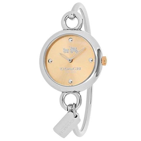 Coach Watches Women's Hangtang Watch (Rose Gold) (Coach Women Gold Watch)