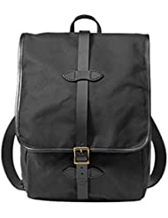 Filson Tin Cloth Backpack Black, One Size