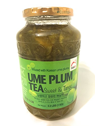 Haioreum Ume Plum Tea - Sweet and Tangy Infused With Korean Ume Plums - Product of Korea 2.2 lb (1 kg)