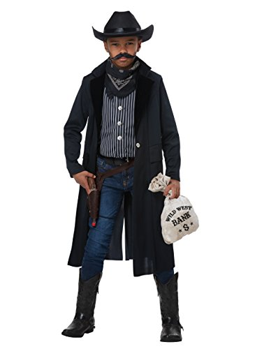 Wild West Sheriff Outlaw Unisex Medium Child Costume (Outlaw Costumes Halloween)