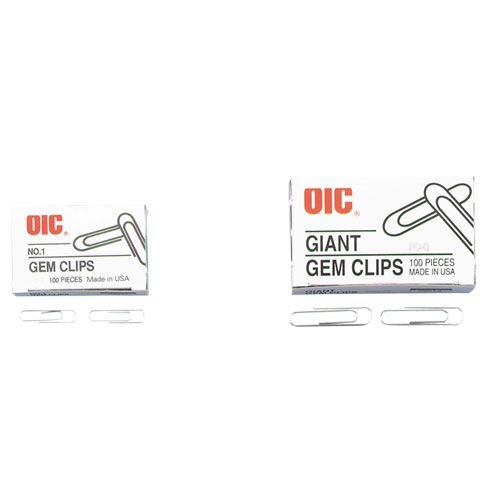 OIC99914 - OIC Giant Paper Clips