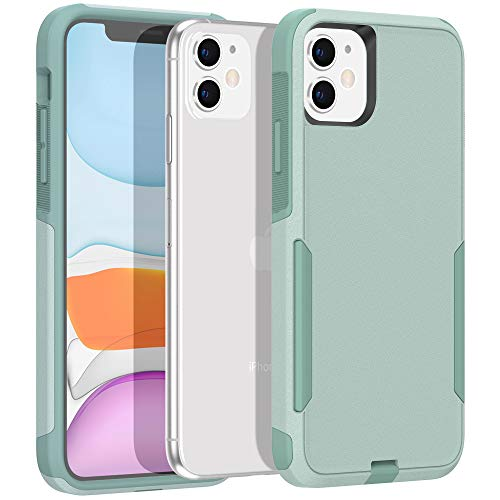 Legfes Phone Case Compatible with iPhone 11 – Shockproof Protective Case – Durable and Sturdy Dual Layer Protection Cover Cases – Stylish and Minimalist Design – Anti-Scratch Raised Edges