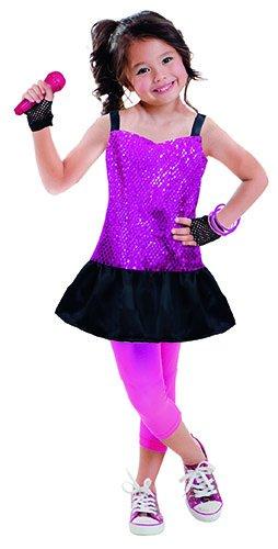 Children's Costume Set Rock Star Age 5/6