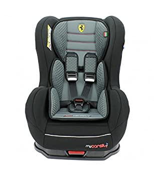 MyCarSit Isofix Ferrari Car Seat For Kids 9 To 18 Kg Grey