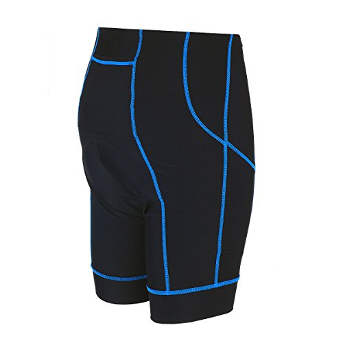 Cushion Airtracks Negro Transpirable Pro Coolmax Xxxl Shorts Adulto Cycling Short Unisex 3D Cycling Azul Pants U8rAUw
