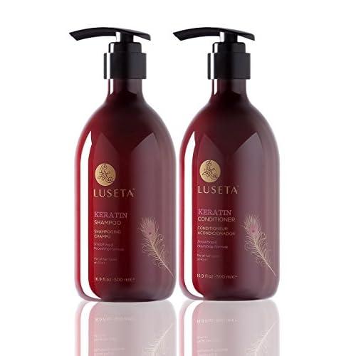 191ce498386d lovely Luseta Keratin Smooth Shampoo & Conditioner Set ...